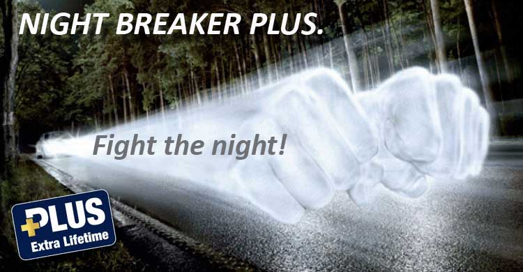 osram h11 night breaker plus h11 fog light bulbs h11 ebay. Black Bedroom Furniture Sets. Home Design Ideas